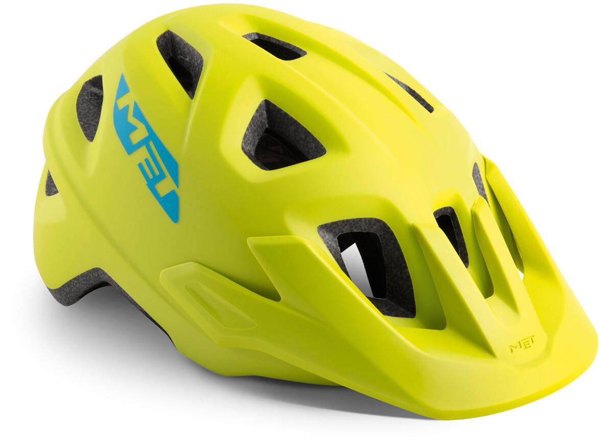 MET Eldar Kask rowerowy Dzieci, lime green | Sklep Bikester.pl